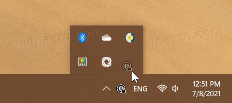 Hide Or Show Icons In Taskbar Corner Overflow