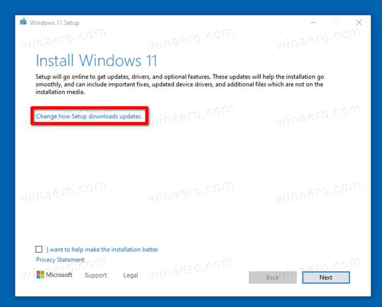 Upgrade To Windows 11 Change How Download Updates