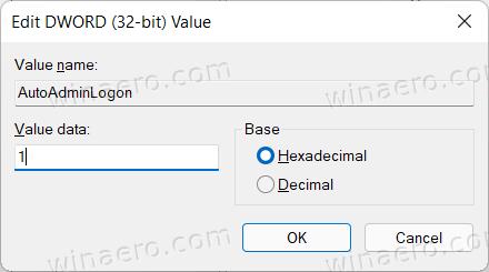 Windows Registry Tweak Sign In Without A Password