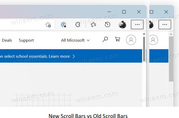 Overlay Scroll Bars In Edge