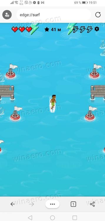 Edge Mobile Surf Game