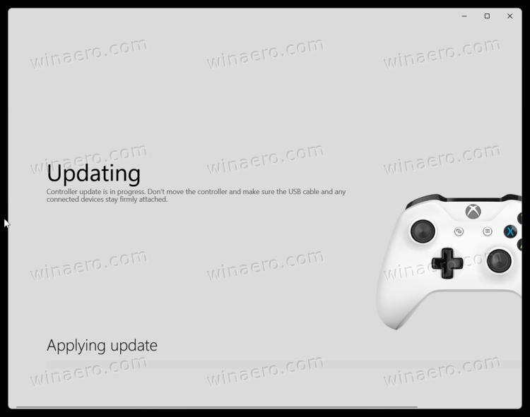 Updating Xbox Gamepad Xbox Wireless Controller