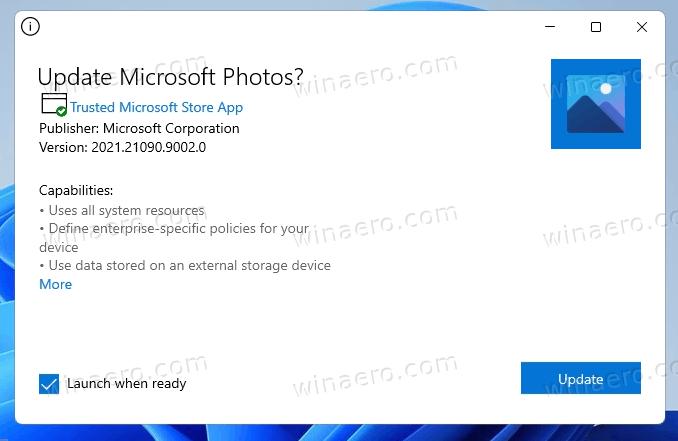 Windows 11 Photos Update