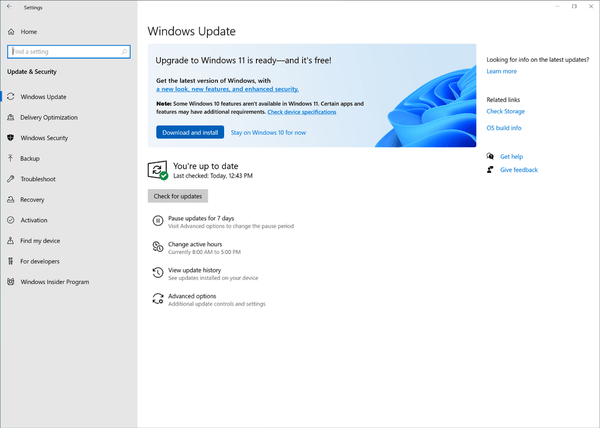 Windows 11 And Windows 10 21h2 Commercial Previews