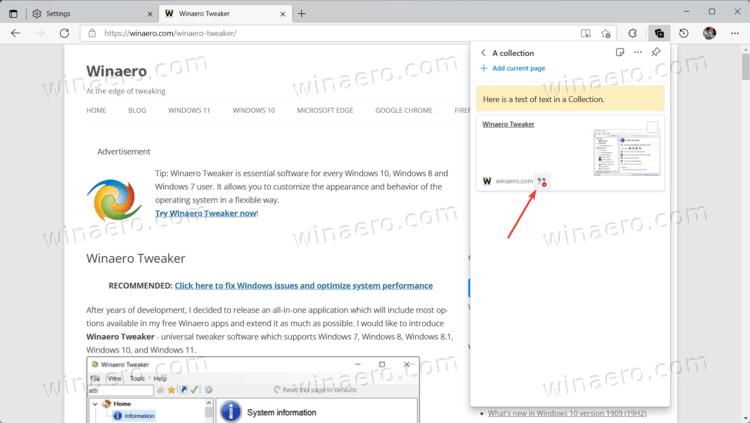 Microsoft Edge Collection Citations 2