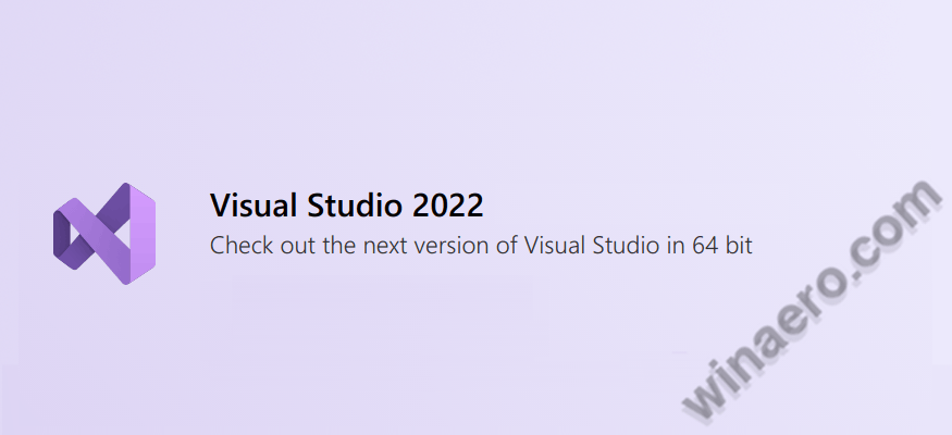 Visual Stuido 2022 Banner
