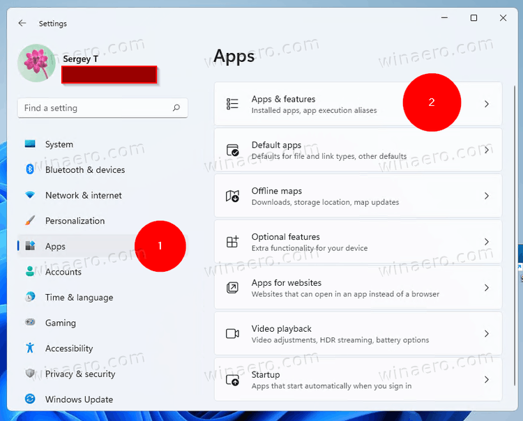 Windows 11 Settings App Apps And Features