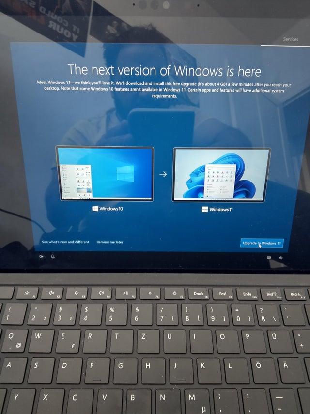 Windows 11 Offer In Windows 10 Setup
