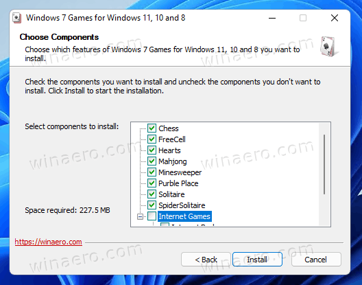 Select Games To Install