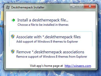Deskthemepack Installer